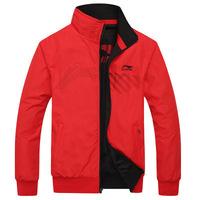 Fashion Double-sided Men's Jackets Outerwear Brand Casual Jacket Men Sportswear Windbreaker Zipper Coats