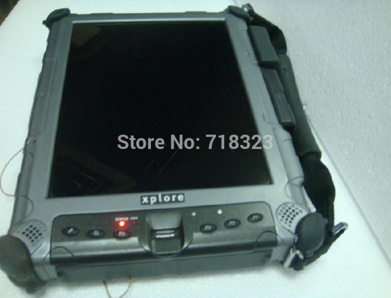 Xplore iX104 c5 i7 cpu Industrial Rugged Tablet PC 90% new(China (Mainland))