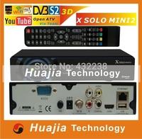 1pc X Solo Mini 2 DVB-S2 Satellite Receiver X solo mini2 Broadcom 7358 Enigma2 support Linux iptv youtube
