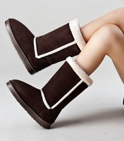 winter high boots heels platform shoes women chaussure femme snow boots women snowshoes bottes BW65
