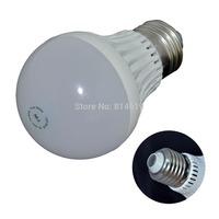 Promotion !E27 LED Plastic flame bulb Lamp Light 2W 3W 5W 7W 9W SMD5730 AC85-265V white/Warm white free shipping  5pcs/lot