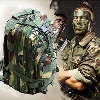 Men's Outdoor Military  Backpack Hiking Trekking Rucksacks Camping Bag