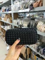 2014 Weave women bag evening bags vintage Grid Purse Clutch Black wallets Wedding Party Handbag. Messenger Shoulder bag