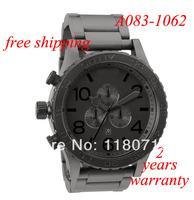 free shipping New original A083-1062 Matte Black / Matte Gunmetal watch with extra link Watch