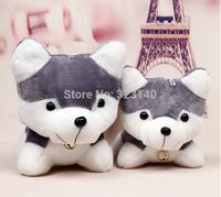 New Plush toys Husky dog doll simulation 26 cm long plush toys toys doll for children  Free shipping