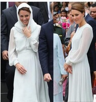 Kate, princess long sleeve dress/star with small pure and fresh and the fairy fan mail/mint green long-sleeved dress