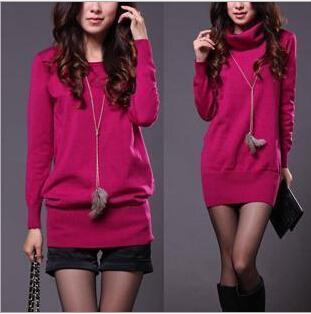 Женский пуловер Fashion Long Sweater o Long Pullovers