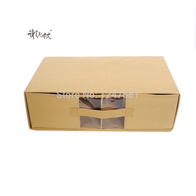 New product custom supply low price and high quality Luxury Printed drawer type Shoe Packing Box Storage Box(China (Mainland))
