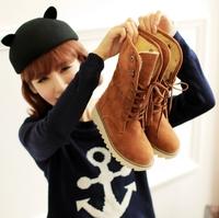 autumn boots winter knee high boots platform shoes women chaussure femme suede snow boots women snowshoes bottes BW65