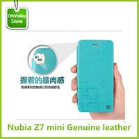 phone case Nubia Z7 mini PU Leather flip open cover case