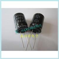 Authentic electrolytic capacitor 400 v82uf uf400v volume: 82 x25 18