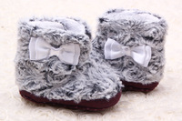 Free Shipping Fashion Baby Soft Sole Shoes Autumn And Winter Warm Boots For Baby #0344