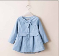 baby girls coats spring and autumn  long sleeved kids clothing     BB406CT-39