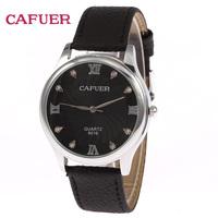 Fashion Classic CAFUER Men Calendar Watch Imitation Diamond Design Clocks Men's Dress Watches Free Shipping