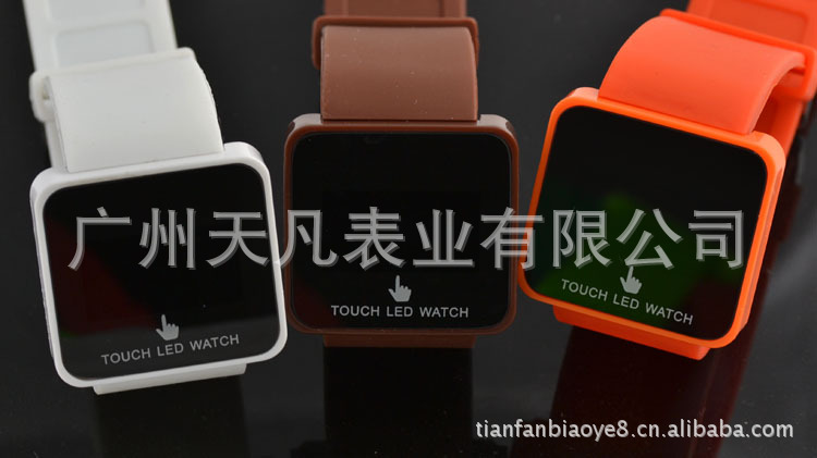 Factory wholesale led touch watch led touch-screen table, the price advantage, welcomed the advisory!(China (Mainland))
