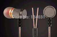 "Free Shipping Best 2014 Original KZ - ED2 professional in-ear headphones ""Metal heavy bass sound quality Music headphones"