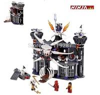 552pcs/set,no box Bela Phantom Ninja Ninjago building blocks, Dark Castle samurai vs toy enlighten minifigures toy for children