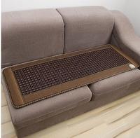 Free shipping! Best quality natural tourmaline mat jade health care cushion tourmaline heat pad heat10-70 Celsius size 150x50cm