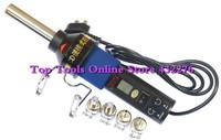 Heat Hot Air Gun 8018LCD+4 Nozzles 220V-240V 450W 450 Degree LCD Adjustable Electronic Desoldering Soldering Station IC SMD BGA