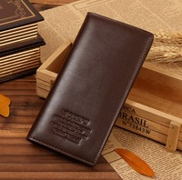New Arrival Gentleman Purse pu Leather Brand Men's Wallet Long Design Hasp Male wallet Cards Holder