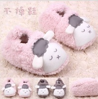 Free Shipping Fashion Coral Fleece Shoes Baby Toddler Shoes Sheep Baby shoes #1209
