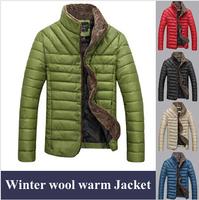 New 2014 TOP Quality Men Jackets Coat Winter Splice Wool Jacket Windproof Outerwear Warm Coat,Jaqueta Masculina Casaco Masculino