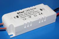 10pcs AC85-265V (4-8)x 1W LED Driver 6w 7w 8w  Power Supply Lighting Transformers for LED Strip Downlight Fireproof