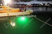 America  hot sale 12V LED Green Underwater Fishing Light Lamp 1080 Lumens Fishing Boat Light Night Fishing