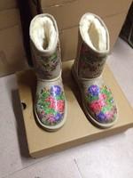 2014 autumn winter ankle boots women winter shoes flat heel casual cute warm shoes women fashion snow boots women's boots