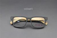 Vintage Acetate prescription eyeglasses Frame Full Rim Cat Eye for man women fashion optical myopia  frame eyewear Wooden  60087