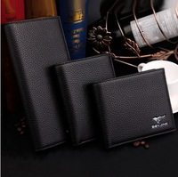 Free Shipping! New High quality Men's Fashion vintage Leather  wallets 3 styles Man Purse Men Wallets C3304
