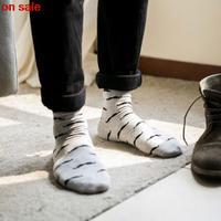 2014 Winter Cotton Men's Socks Wholesale Beard mens designer socks 5Pairs/lot/Mixed Color  Good Quality Socks