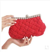 Free shipping!NEW Design Women candy color Wove evening bags,Fashion Shoulder bag,Party Bags,Day clutches/shoulder bags NEW-DAY1
