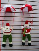 Free Shipping Christmas Decoration Snowman/Santa Parachute Outdoor Snowman in Parachute
