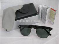 High Quality ray rb 3016 sunglasses women's/men's clubmaster retro fashion sunglasses with original box