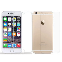Top Quality 3sets High Clear Screen Protector For Iphone 6 4.7 Transparent Crystal Protective Film Guard For Iphone6