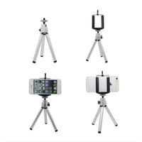 Universal car phone holder Fashion metal tripod for iPhone Samsung GPS Camera stand  Selfie stick Monopod suporte celular carro