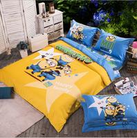 New!David bedding set cartoon 100% cotton bed set  duvet cover bedclothes bed linen queen twin full king size gift SpongeBob