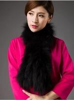 high quality  lady winter natural  fox fur scarf luxury  & sexy  women fashion warm coat collar shawl free shipping