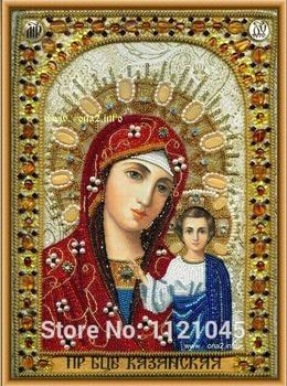 Новый! 100% 3D смолаы алмазные вставить поделки ремесло вышивки крестом домашнего декора красивая девственница AX087