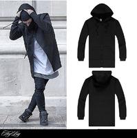 Winter famous brand men sweater coat jacket hip hop space cotton sport hooded cardigan Lengthen hoodies dress casual sweatshirt