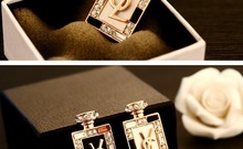 brand brooches high quality letters perfume brooches fasion women jewlery wholessales new 2014 factory price BV00015