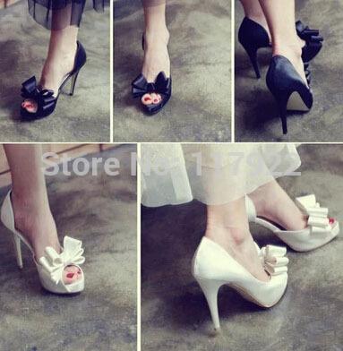 New fashion wedding shoes Satin Pumps women sexy stiletto high-heeled shoes(China (Mainland))