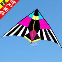 china single line nice bird Umbrella fabric full resin rod kite super size 250cmx130cm