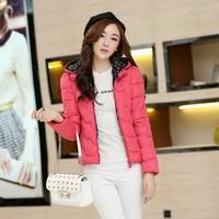Genuine new winter Korean women all-match slim down jacket short thickening