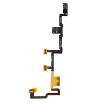 1Pcs Flex Cable Replacement Volume Control Power Switch On/Off Key for iPad 2