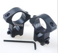 2PCS 30mm Weaver Scope Mount Rings Low Profile Picatinny Rail Mount Rings