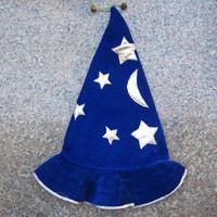 2pcs/lot Christmas supplies gift Christmas decoration santa claus hat gold velvet christmas hat brightness