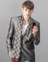 plaid bufandas echarpe luxury men christmas fashion mex printed casual scarves brand winter cheap tartan scarf men