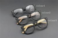 Vintage Acetate prescription eyeglasses Frame Full Rim Cat Eye for man women fashion optical myopia  frame eyewear Wooden  60079